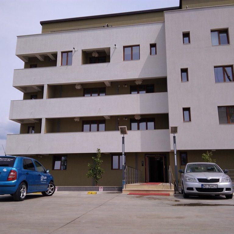spring residence exterior