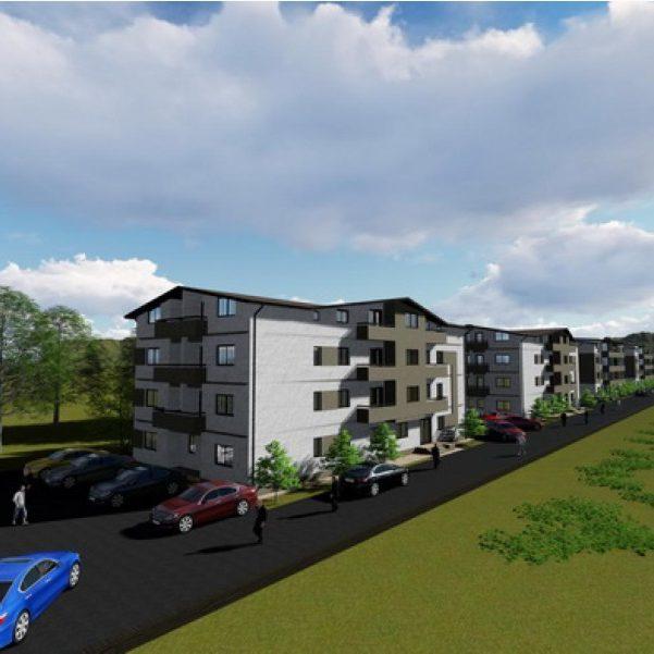 Panoramic Residence blocuri si parcare